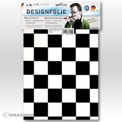 Feuille de conception Oracover Easyplot Fun 3 87-010-071-B (L x l) 300 mm x 208 cm blanc-noir