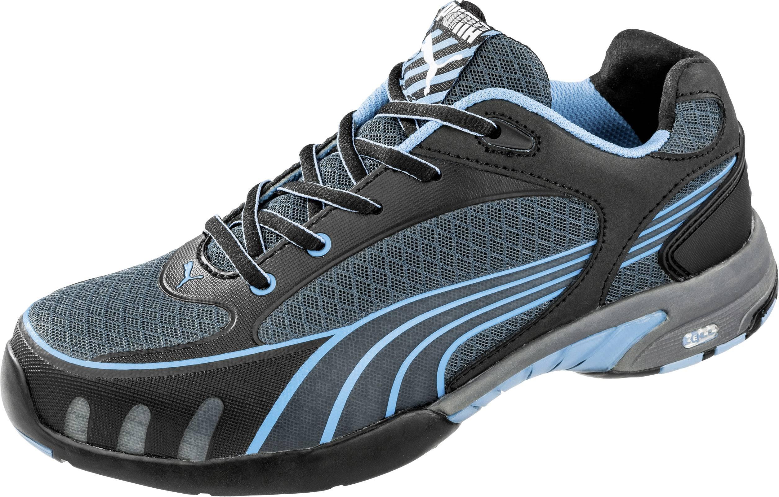 PUMA Safety Fuse Motion Blue Wns Low 642820 Chaussures basses de sécurité S1 Taille: 39 noir, bleu 1 paire