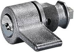 Poignée avec dispositif à cylindre de sécurité Rittal 1484.000 gris 1 pièce