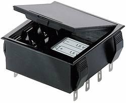 Support de pile 4x LR6 (AA), 6LR61 (9 V) Bopla 46600000 connexion à souder (L x l x h) 65 x 65 x 21.5 mm