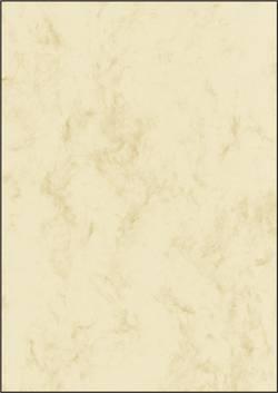 papier à motifs Sigel DP191 DIN A4 25 feuille beige