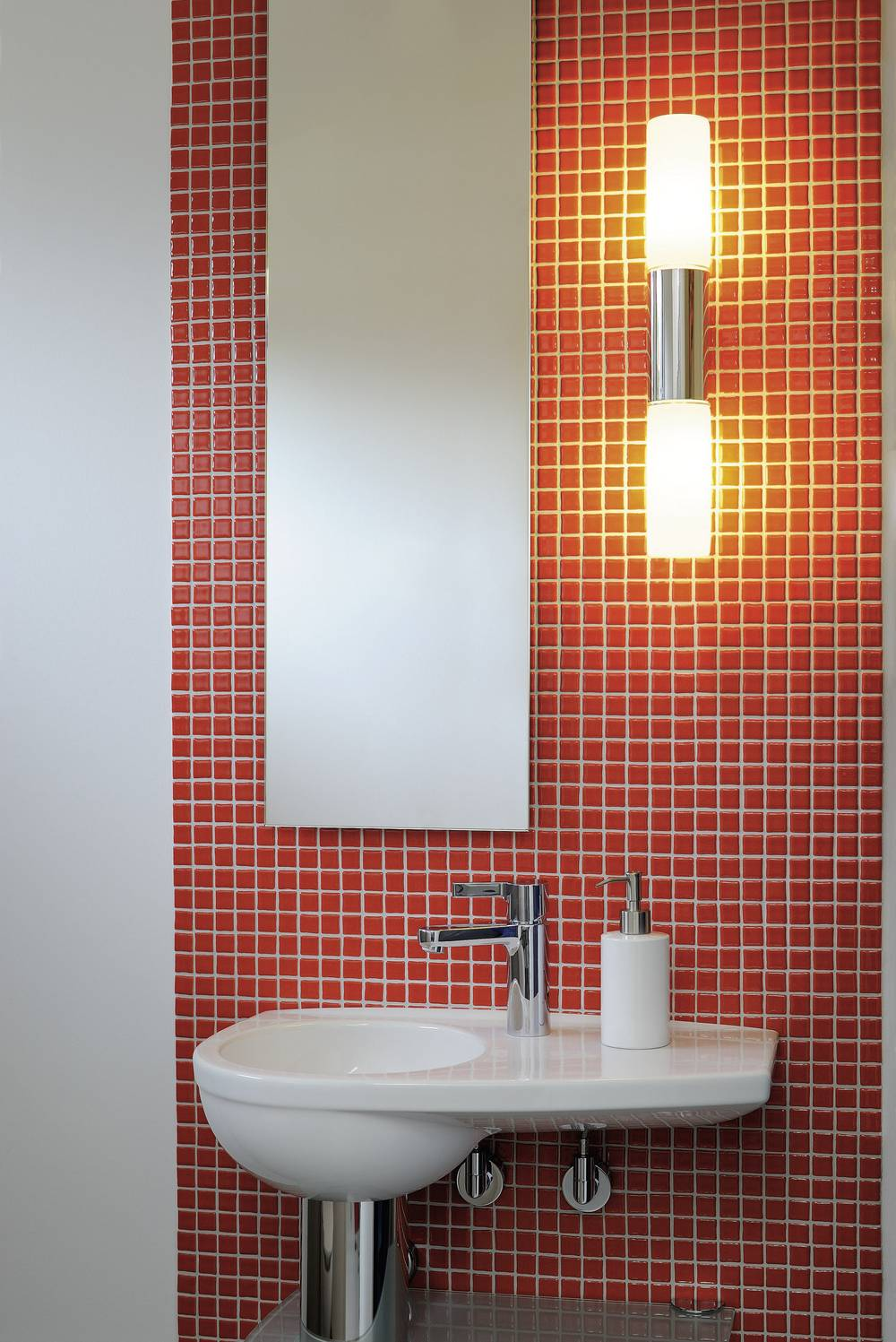 Slv Spot Salle De Bain ~ applique murale pour salle de bain slv devin double e14 22 w chrome