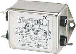 Filtre antiparasite Yunpen 530100 250 V/AC 10 A 1.2 mH (L x l x h) 75 x 51 x 37 mm 1 pc(s)