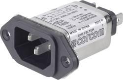 Filtre réseau TE Connectivity 6609006-9 avec connecteur femelle pour appareil 250 V/AC 6 A 465 mH 1 pc(s)