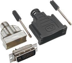 Connecteur DVI mâle, droit TRU COMPONENTS 1578902 Nombre total de pôles: 25 1 pc(s)