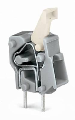 Bornier à ressort WAGO 257-742 2.50 mm² Nombre total de pôles 1 gris foncé 500 pc(s)