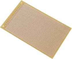 Platine Euro Conrad Components 531113 Bakélite (L x l) 160 mm x 100 mm 35 µm Pas 2.54 mm 1 pc(s)