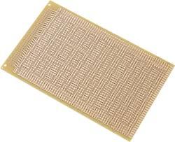 TRU COMPONENTS SU527823 Platine pour circuits intégrés Bakélite (L x l) 160 mm x 100 mm 35 µm Pas 2.54 mm Conditionneme
