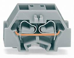 Borne d'extrémité WAGO 260-346 8 mm ressort de traction orange 300 pc(s)