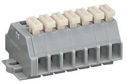 Barrettes à bornes WAGO 261-107/331-000 6 mm ressort de traction Affectation des prises: L gris 50 pc(s)