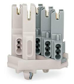 Borne pour boîte de dérivation WAGO 267-123 rigide: 1-0.5 mm² Nombre total de pôles: 3 blanc 500 pc(s)