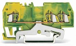Borne pour conducteur de protection WAGO 279-687/999-950 4 mm ressort de traction Affectation des prises: terre vert-jau