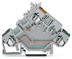 Borne pour actionneurs WAGO 280-555 5 mm ressort de traction Affectation des prises: L gris 50 pc(s)