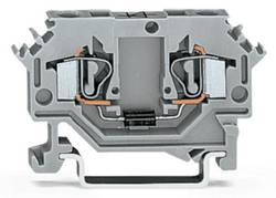 Bloc de jonction à diode WAGO 281-603/281-410 6 mm ressort de traction Affectation des prises: L gris 100 pc(s)
