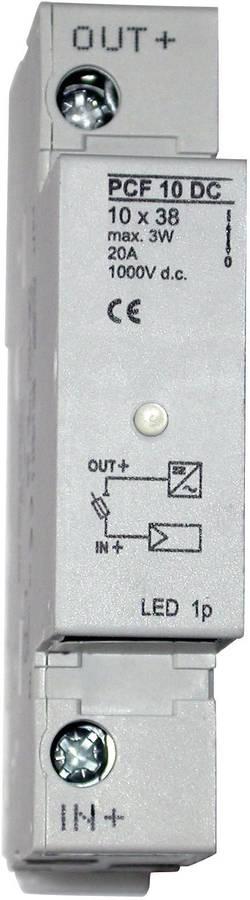 Porte-fusible avec affichage du statut ESKA 1038004 Adapté pour fusible photovoltaïque 20 A 1000 V/DC 1 pc(s)