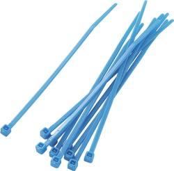 Assortiment de serre-câbles 2.20 mm x 100 mm bleu KSS 542286 crantage intérieur 100 pc(s)