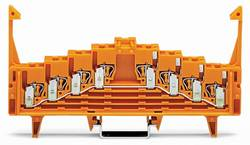 Borne équipotentielle WAGO 727-225/022-000 7.62 mm ressort de traction orange 50 pc(s)