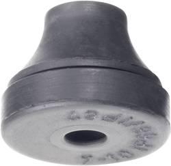 Passe-fils PB Fastener 1203-CR-SW 1203-CR-SW Ø de passage max. 14 mm Caoutchouc-Chloroprène noir 1 pc(s)