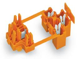 Borne pour boîte de dérivation WAGO 730-103 rigide: 0.75-1.5 mm² Nombre total de pôles: 3 orange 50 pc(s)