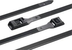 HellermannTyton 112-27560 RPE275-HSW-BK-C1 Serre-câbles 275 mm noir pour une application robuste, stabilisé aux UV, stab