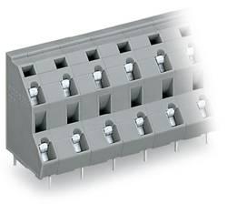 Bornier à 2 étages WAGO 736-756 2.50 mm² Nombre total de pôles 12 gris 28 pc(s)
