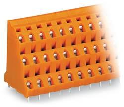 Bornier à 3 étages WAGO 737-608 2.50 mm² Nombre total de pôles 24 orange 16 pc(s)