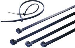 Assortiment de serre-câbles 2.50 mm x 200 mm noir KSS 544779 crantage intérieur 100 pc(s)