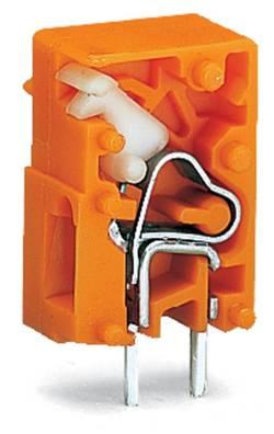 Bornier à ressort WAGO 741-912 2.50 mm² Nombre total de pôles 1 orange 2880 pc(s)