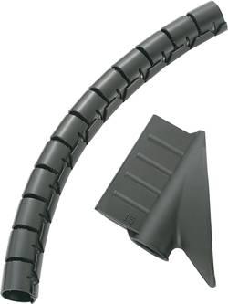 Gaine pour câbles 10 mm (max) KSS MX-KLT8BK 545345 noir 5 m