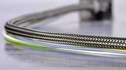 Gaine tressée HellermannTyton HEGEMIP08-CUSP-C4 173-00800 aluminium, noir polyester 8 à 11.50 mm au mètre