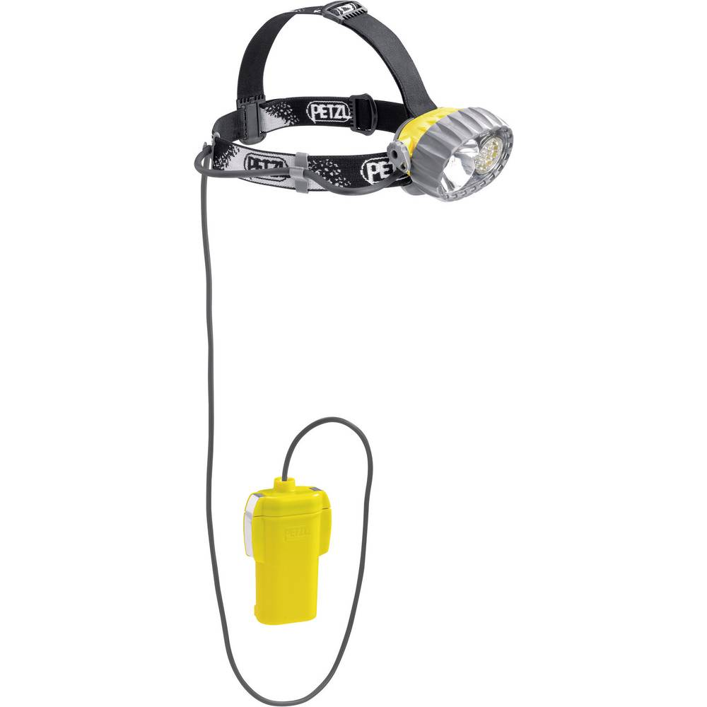 lampe frontale led ampoule halog ne petzl duo belt led 14 pile s 550 g 430 h jaune noir sur. Black Bedroom Furniture Sets. Home Design Ideas