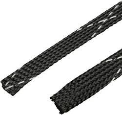 Gaine tressée Panduit SE75PFR-CR0 noir PET 31.80 à 12.70 mm au mètre