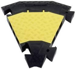 Pièce de liaison 45° Polyuréthane noir-jaune Adam Hall Defender 85009 Nombre de canaux: 3 1 pc(s)