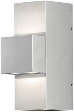 Applique murale LED extérieure Konstsmide Imola Up & Down 7934-310 LED intégrée gris-argent