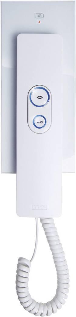 Station intérieure d'Interphone filaire m-e modern-electronics ADV 105 WW blanc