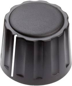 Tête de bouton rotatif Mentor 4332.6001 avec pointeur noir (Ø x h) 20 mm x 15 mm 1 pc(s)