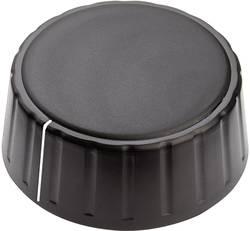 Tête de bouton rotatif Mentor 4335.6001 avec pointeur noir (Ø x h) 48 mm x 19 mm 1 pc(s)