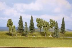 Set d'arbres forêt mixte NOCH 24230 40 à 100 mm vert clair, vert foncé 10 pc(s)