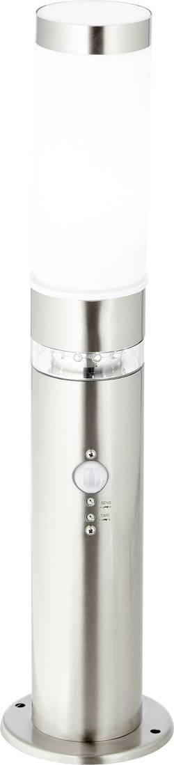 Lampadaire extérieur avec détecteur de mouvements Brilliant 60.84 W acier inoxydable 50 cm
