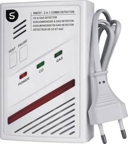 Détecteur de gaz Smartwares RM337 SW sur secteur monoxyde de carbone, butane, méthane, propane
