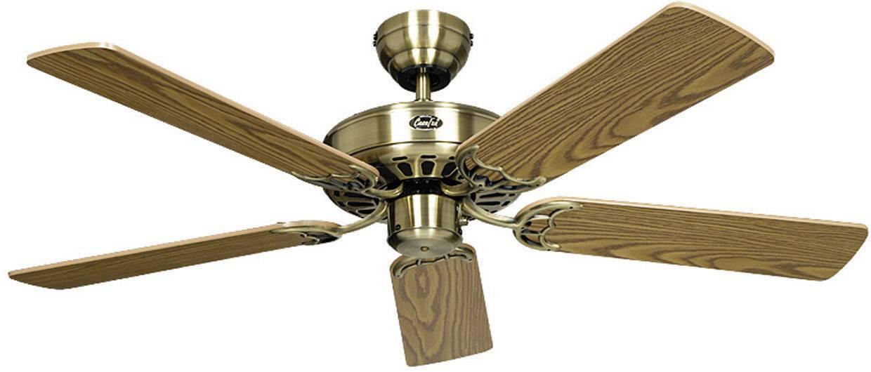 Ventilateur de plafond CasaFan Classic Royal 103 MA 5 pales (Ø) 103 cm imitation bois de chêne antique