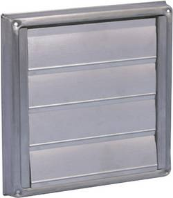 Store de ventilation Wallair N34863 15 cm acier inoxydable