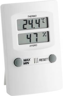 Thermo-hygromètre TFA 30.5000.02 blanc