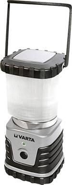 Lanterne de camping LED puissante de 4 W Varta 3D, 4 W 18663101111 à pile(s) 830 g argent-noir