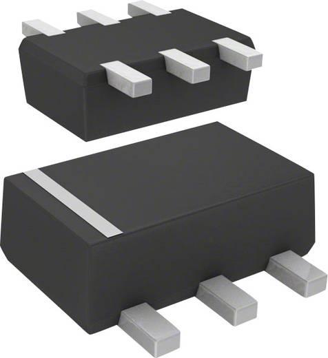 Transistor bipolaire (BJT) - Matrice, prépolarisé DMC564070R SMini6-F3-B Panasonic Nombre de canaux: 2 NPN - Prépolarisé