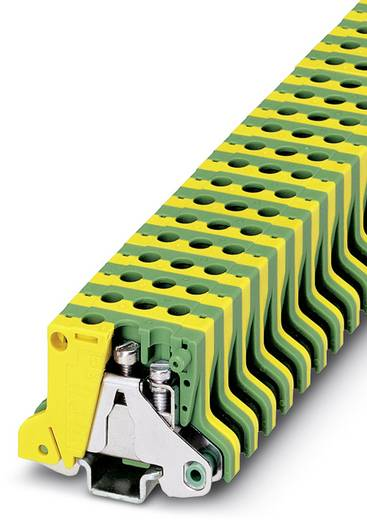Bloc de jonction pour conducteur de protection Conditionnement: 50 pc(s) Phoenix Contact MSLKG 2,5 0452027