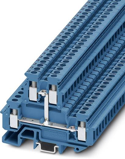 Bloc de jonction simple Conditionnement: 50 pc(s) Phoenix Contact MBKKB 2,5-PV BU 1414132