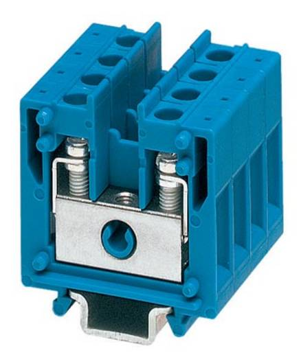 Bloc de jonction simple Conditionnement: 50 pc(s) Phoenix Contact MBK 5 BU 1415092