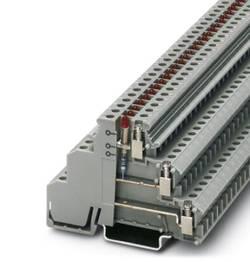 Bloc de jonction pour capteurs / actionneurs Conditionnement: 50 pc(s) Phoenix Contact DIKD 1,5-LA 24RD/O-M 2715814