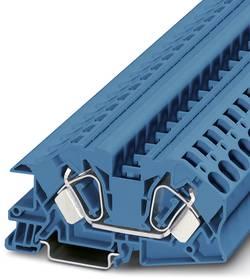 Bloc de jonction à étages pour installations Conditionnement: 25 pc(s) Phoenix Contact STI 16 BU 3038260